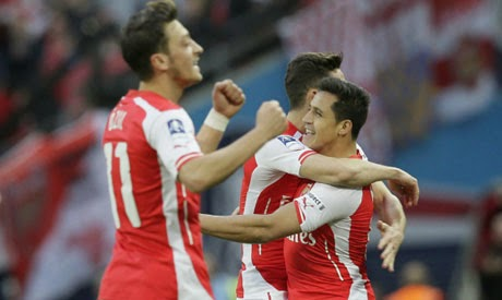 Arsenal reach FA Cup final after beating Reading