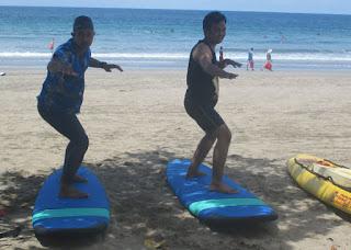 tips dan cara dasar dalam bermain surfing