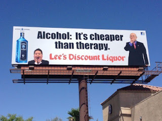 Alcohol is cheaper...