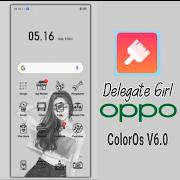 Tema Delegate Girl untuk OPPP dan Realme
