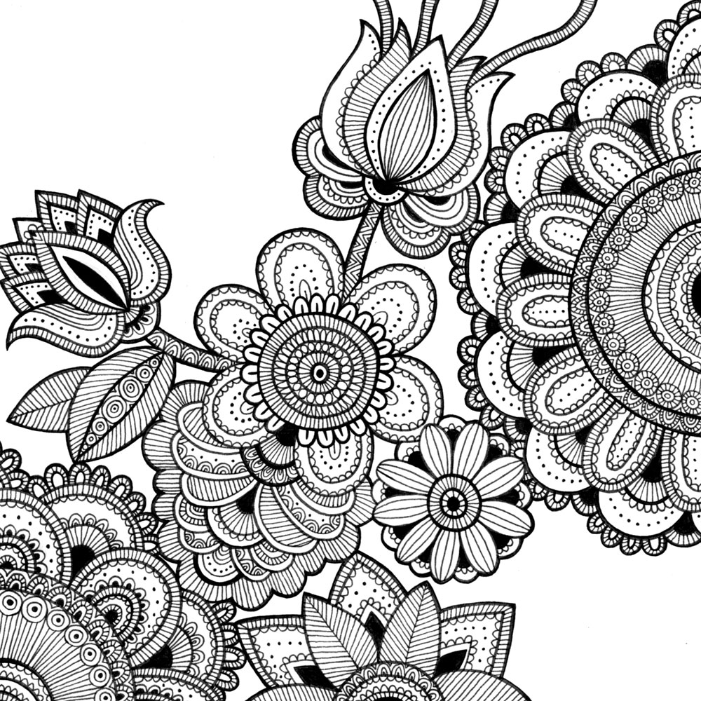 coloring pages intricate - photo#3