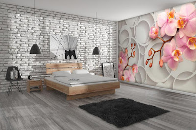 New 3d wallpaper murals for bedroom 2019