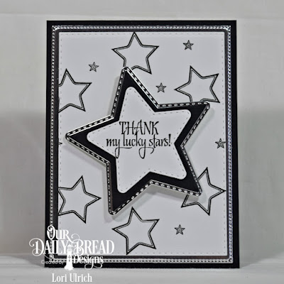 Our Daily Bread Designs Stamp set: Superstar, Our Daily Bread Designs Custom Dies: Flourished Star Pattern, Double Stitched Rectangles, Sparkling Stars, Double Stitched Stars