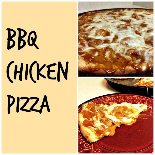 This BBQ chicken pizza is as easy to make as it is delicious. This simple pizza can become a quick and easy dinner staple that everyone in the family can enjoy.