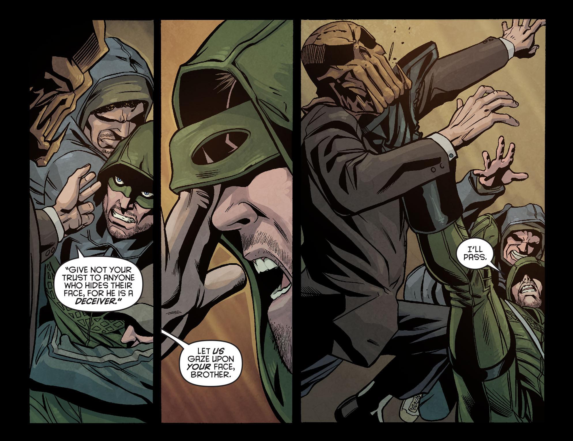 Read online Arrow: Season 2.5 [I] comic -  Issue #6 - 7