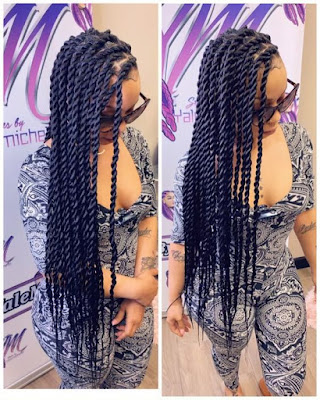 Stunning Ghana Braids Hairstyles Ponytails For Black Women Right Now
