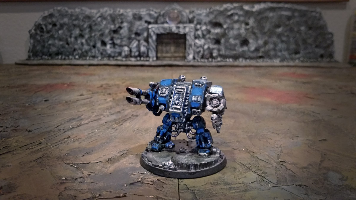 space marines dreadnought 2