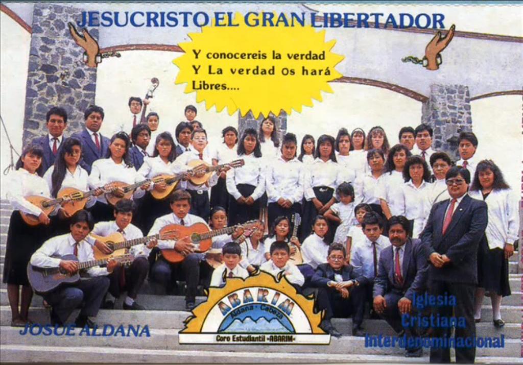 Josué Aldana-Jesucristo El Gran Libertador-