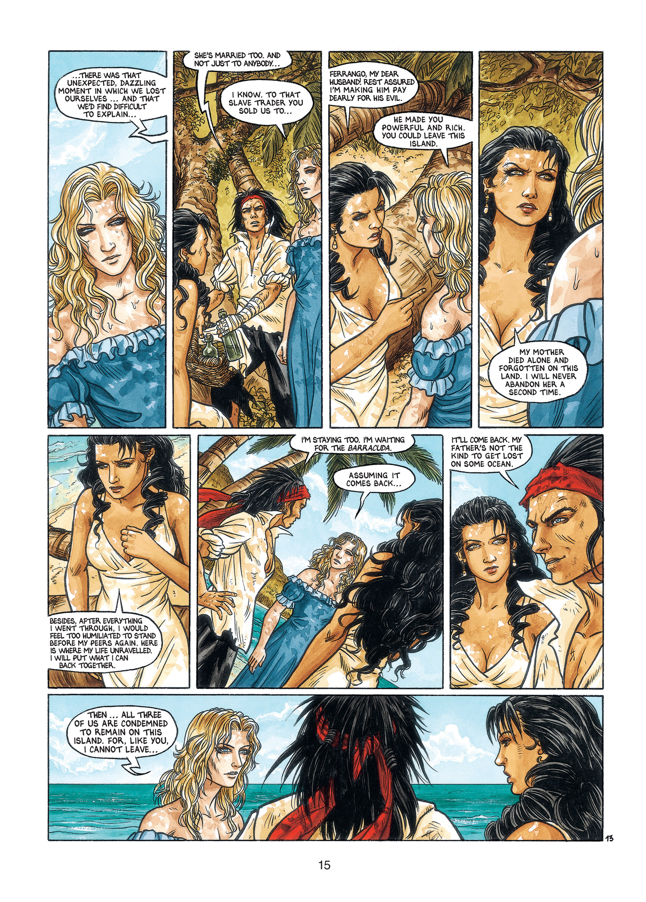 Read online Barracuda comic -  Issue #3 - 16
