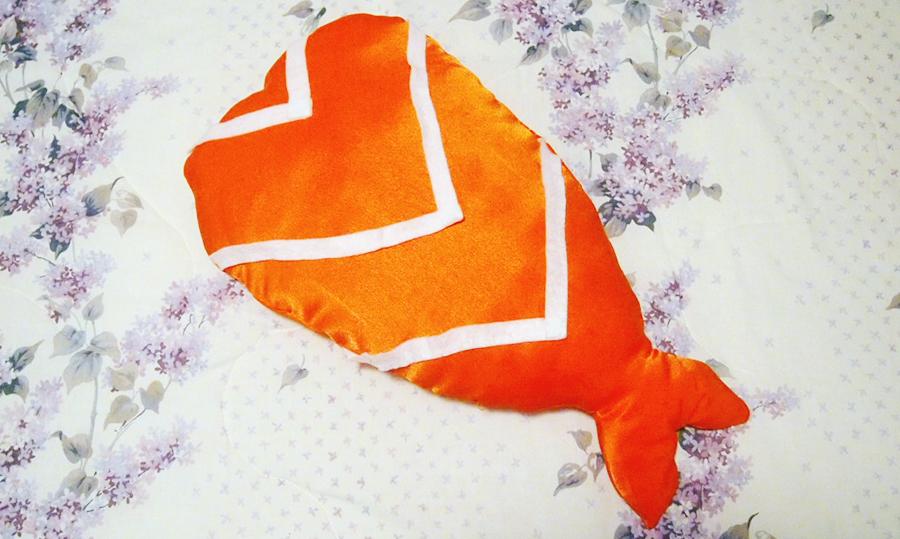 I'm a piece of Sushi! Halloween Costume DIY - shrimp