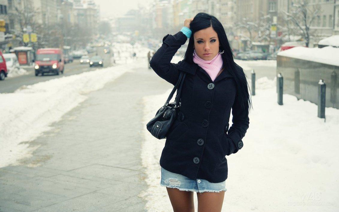 Şık görünmek için kot etekle ne giyersiniz