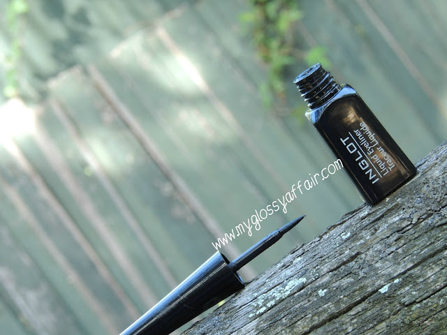 Inglot black liquid eyeliner - Review and Swatches