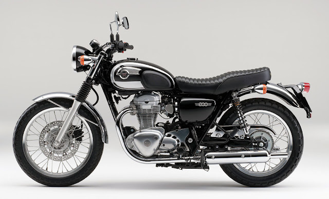 Auto Wallpaper: Kawasaki W800 Special Edition 2013