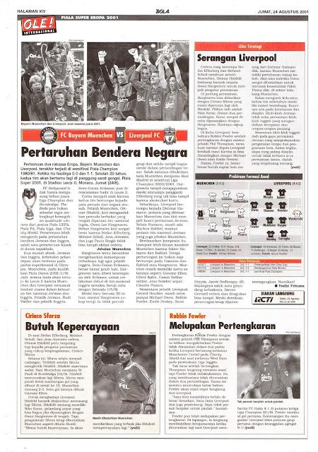 SUPER CUP FC BAYERN MUENCHEN VS LIVERPOOL FC