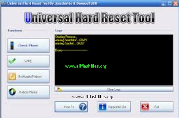 Universal Hard Reset Tool For All Android Phones Free Download