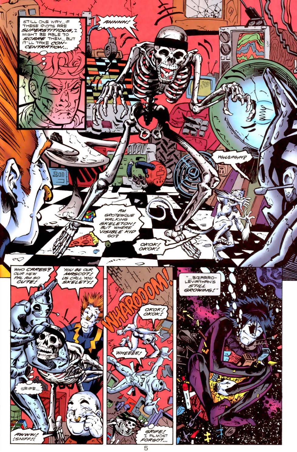 Legion of Super-Heroes (1989) 115 Page 5