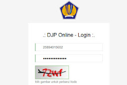 Cara Membuka Website E-Filling Pajak  via https://djponline.pajak.go.id
