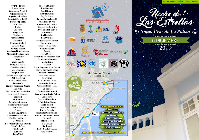 Más de 50 actos conforman el programa de la Noche de Las Estrellas - Programa 2019