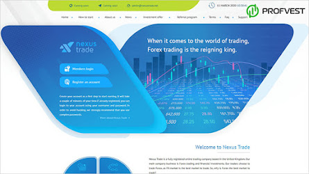 🥇Nexus Trade: обзор и отзывы о nexustrade.net (HYIP платит)
