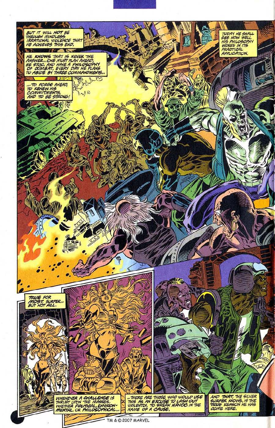 Read online Silver Surfer (1987) comic -  Issue #106 - 4