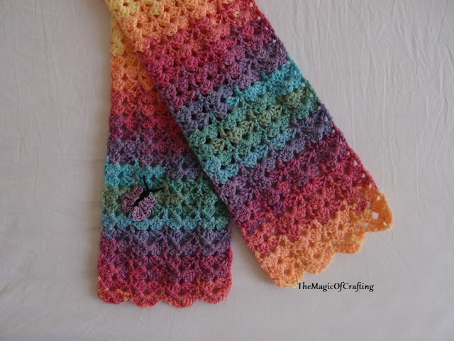 Free Crochet Patterns And Diy Crochet Charts Gorgeous Toddler Scarf