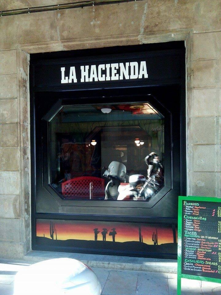 Noticias abre el nuevo restaurante la hacienda en calle - Calle princesa barcelona ...