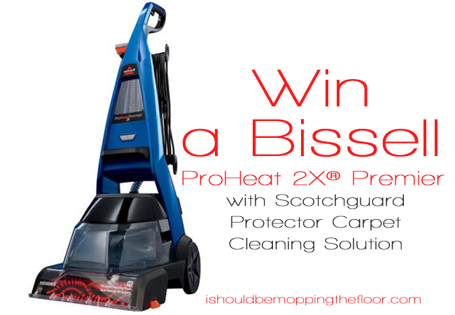 Preparing for Guests and Cleaning for the Holidays | Enter to win a Bissell Upright Deep Cleaner!
