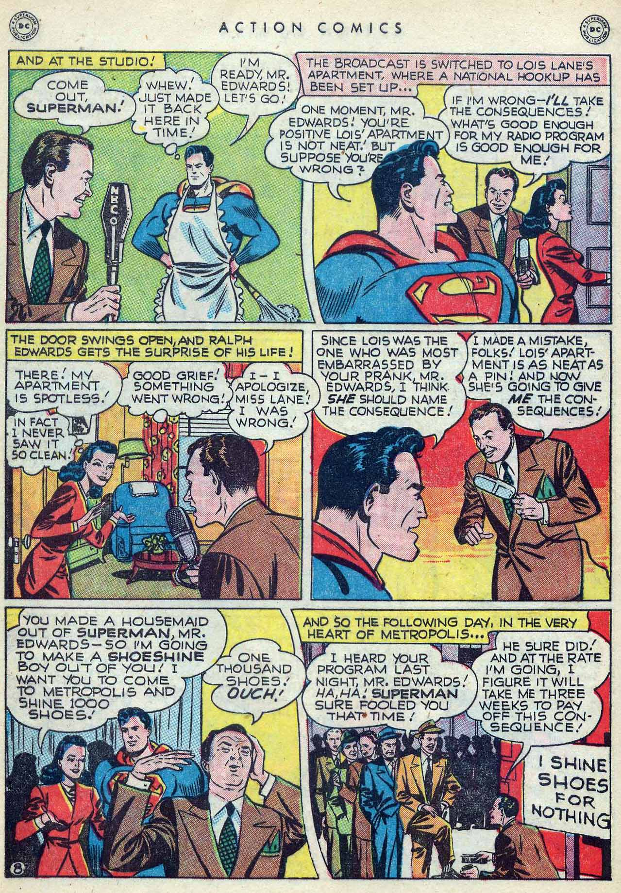 Read online Action Comics (1938) comic -  Issue #127 - 10