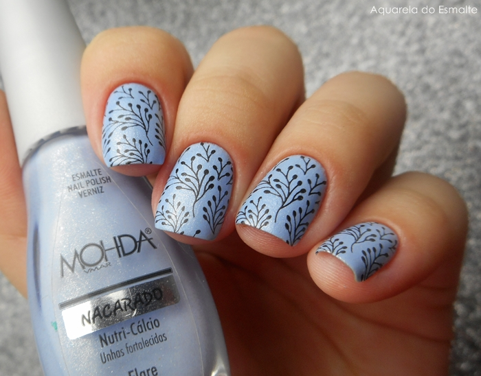 Esmalte Mohda - Flare + Placa Bundle Monster - 708