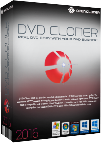 DVD-Cloner 2016/Gold/Platinum 13.50.1417