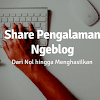 Pengalaman Ngeblog dari Nol hingga Menghasilkan Uang