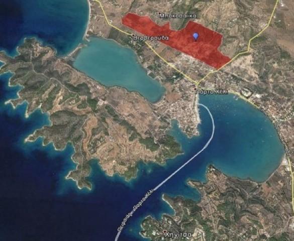 Μπλόκο από το δασαρχείο απειλεί την πώληση από το ΤΑΙΠΕΔ έκτασης 600 στρεμμάτων στο Πόρτο Χέλι