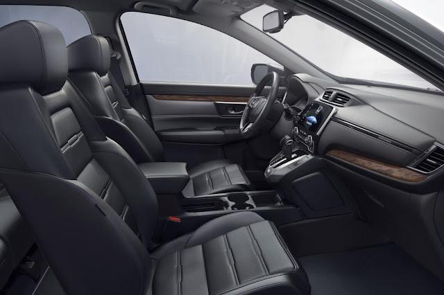 2017 New Honda CR-V Interior