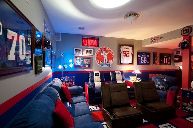 Football Bedroom Decorating Ideas - 5 Small Interior Ideas