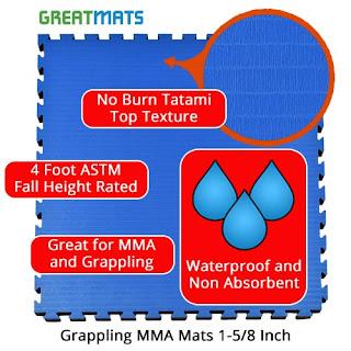 Greatmats grappling mma mats