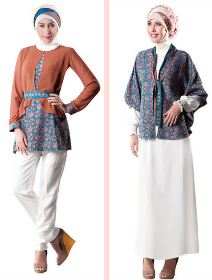 Contoh Busana Muslim untuk Fashion Show