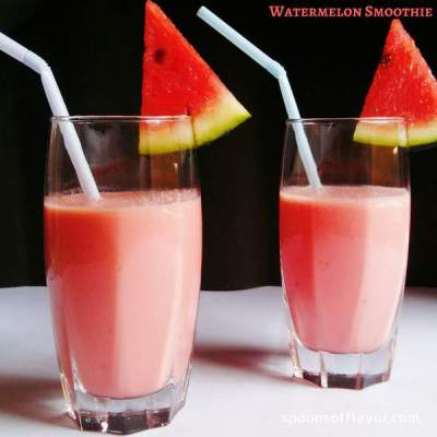 Healthy and Delicious watermelon smoothie