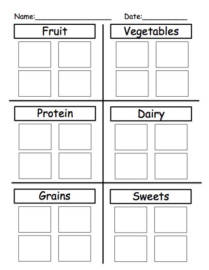 autism tank science unit preview food groups. Black Bedroom Furniture Sets. Home Design Ideas
