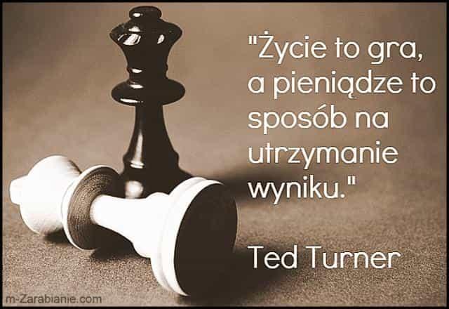 Ted Turner, cytaty o pieniądzach.