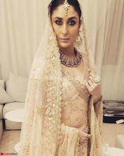 Kareena Kapoor Sizzles as a bride in Costly Ravishing Bridal Lehenga for movie Veere Di Wedding