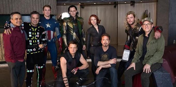 Vingadores: Ultimato, direto dos bastidores equipe original se reúne em foto