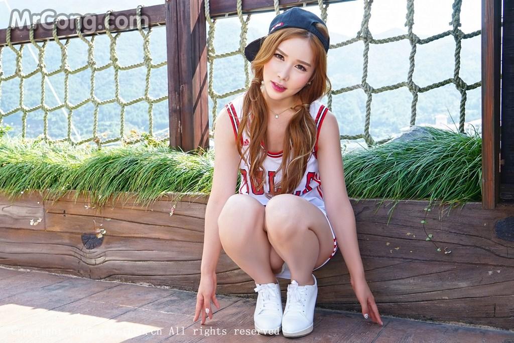 TGOD 2015-10-03: Model Yu Ji Una (于姬Una) (50P)