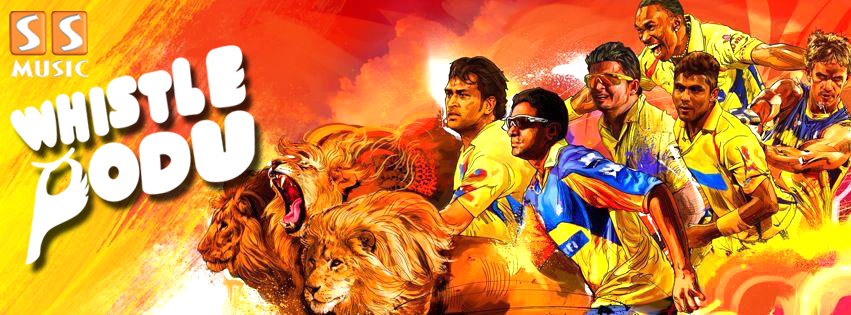 WHISTLE PODU !!!!!!!! CHENNAI SUPER KINGS ARE CHAMPIONS