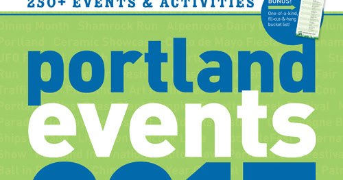 2017 Portland Events Wall Calendar Is Now In Stores