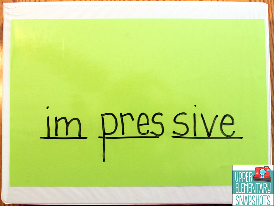 described in this blog post to help your struggling readers learn to decode multi-syllable words correctly and independently!