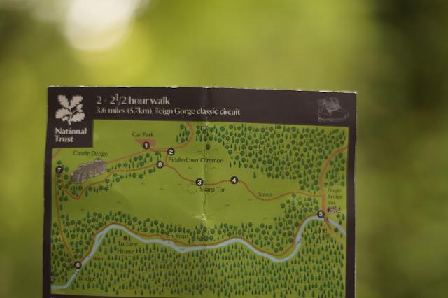 Castle Drogo and Fingle bridge walk
