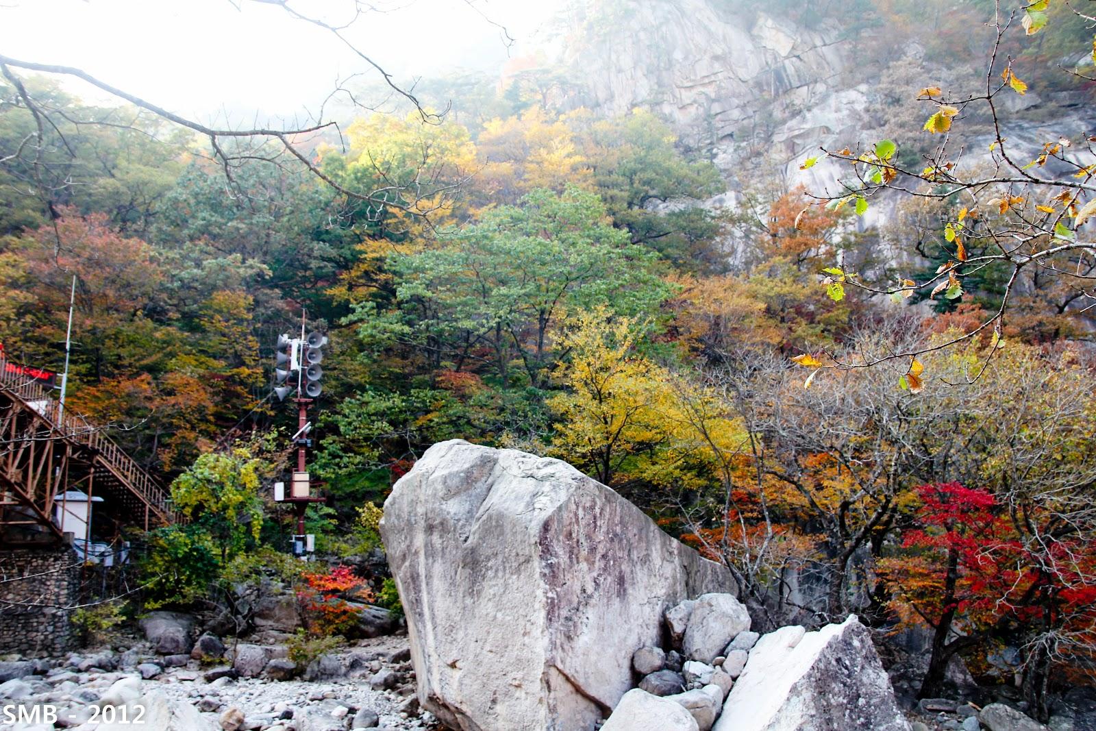 Seoraksan autumn