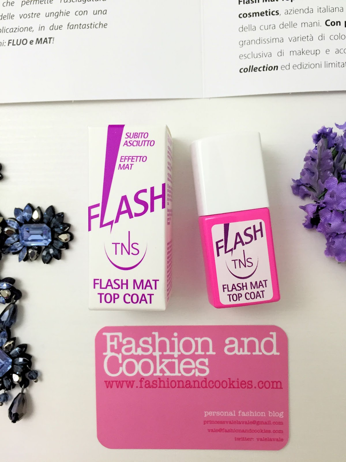 TNS Cosmetics Flash Fluo and Flash Mat Top Coat on Fashion and Cookies beauty blogger, beauty blog