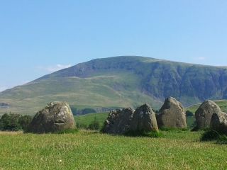 Castlerigg, looking towards Clough Head