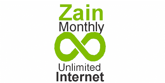 Zain Prepaid 260 Monthly Unlimited Internet